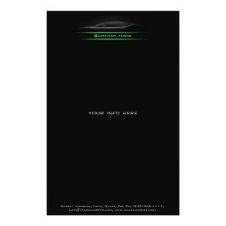 Material de oficina de la compañía de automóviles  tarjetas publicitarias