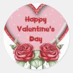 Material del día de San Valentín Etiquetas