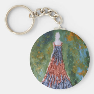 Material Dress Keychain
