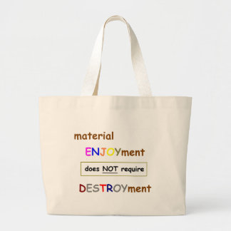 Material Enjoyment Tote