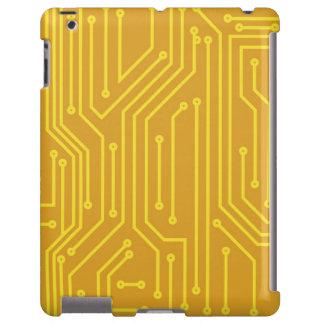 Material informático abstracto funda para iPad