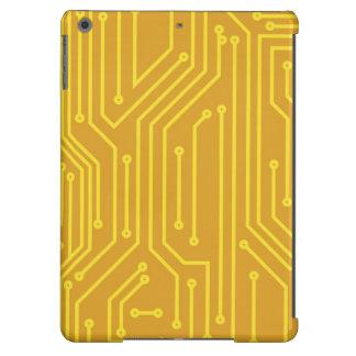 Material informático abstracto funda para iPad air
