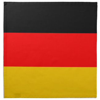 Material napkins with Germany flag