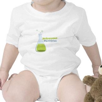 Material peligroso trajes de bebé