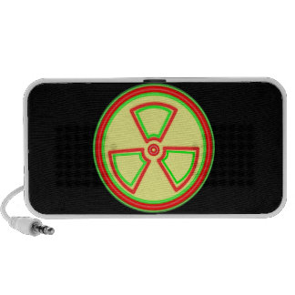 Material radioactivo iPhone altavoces