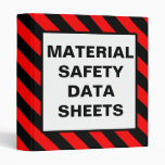 Material Safety Data Sheets Red Binder