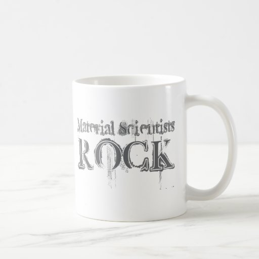 Material Scientists Rock Coffee Mugs