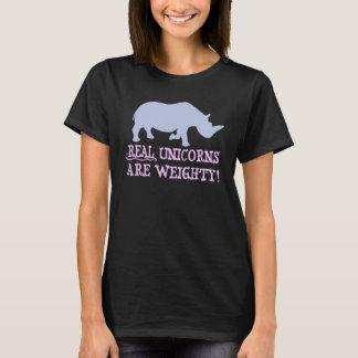 Material unicorns acres weighty T-Shirt