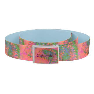 Materialization of a Shell Vibrant Abstract Belt