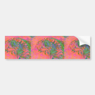 Materialization of a Shell Vibrant Abstract Bumper Sticker