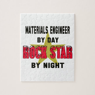 Materials engineer by Day rockstar by night Puzzles