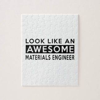 MATERIALS ENGINEER DESIGNS PUZZLES