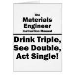 materials engineer greeting cards