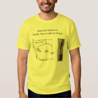 Materials Engineers Handle Stress with no Strain! Tshirt