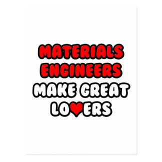 Materials Engineers Make Great Lovers Postcard
