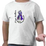 Materias CFS de la esperanza de la cinta 4 de la f Camisetas