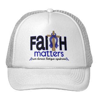 Materias crónicas de la fe del síndrome del cansan gorras