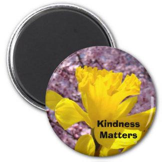 Materias de la amabilidad de los estudiantes de imán redondo 5 cm