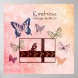 Materias de la amabilidad de los pájaros y de las  poster