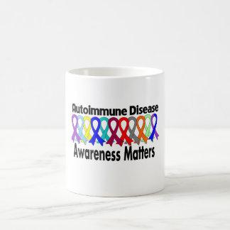 Materias de la conciencia de la enfermedad autoinm tazas