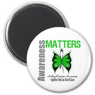 Materias de la conciencia de la enfermedad de riñó imán redondo 5 cm