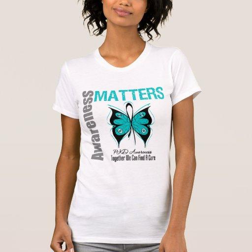 Materias de la conciencia de PKD Camiseta