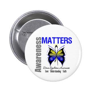 Materias de la conciencia de Síndrome de Down Pins