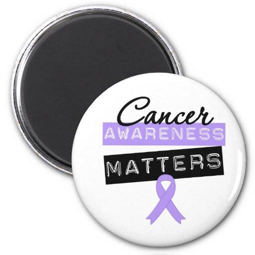 Materias de la conciencia del cáncer imán