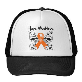 Materias de la esperanza de la esclerosis múltiple gorros bordados