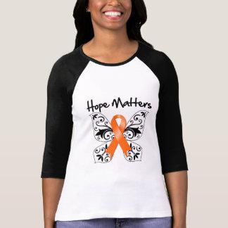 Materias de la esperanza de la esclerosis múltiple playeras