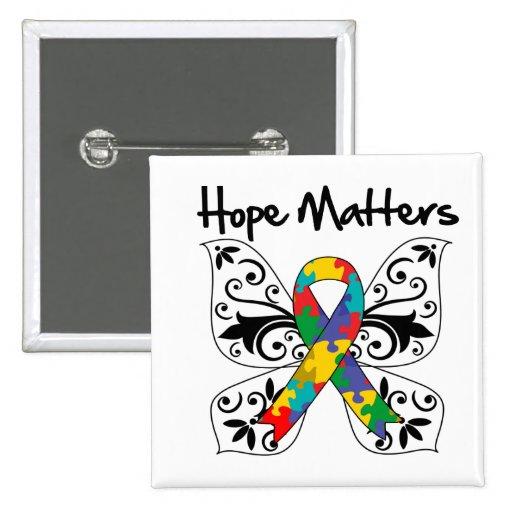 Materias de la esperanza del autismo pin
