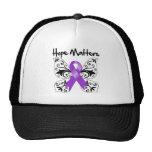 Materias de la esperanza del cáncer pancreático gorra