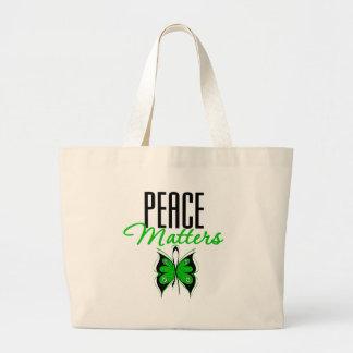 Materias de la paz de Darfur Bolsas De Mano