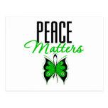 Materias de la paz de Darfur Tarjeta Postal
