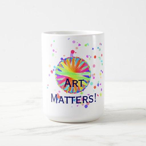 ¡Materias del arte! Taza Clásica