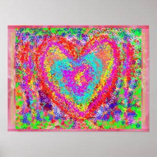 Materias del corazón HeartMatters por Naveen Posters