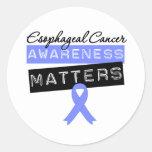 Materias del esófago de la conciencia del cáncer etiqueta