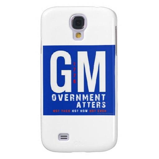 Materias del gobierno del GM