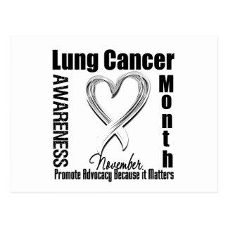 Materias del mes de la conciencia del cáncer de tarjetas postales