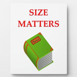 materias del tamaño