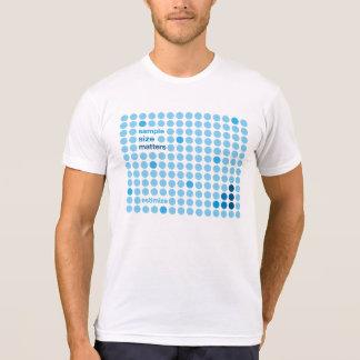Materias del tamaño de muestra - Estimize Camisetas