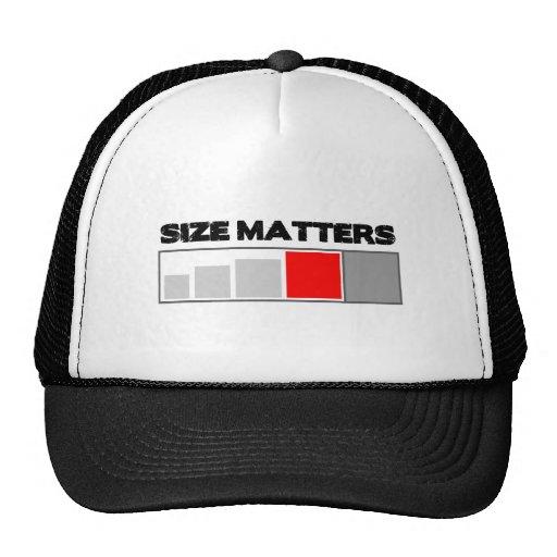 Materias del tamaño - materia de Geocaching Gorras De Camionero