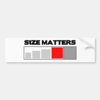 Materias del tamaño - materia de Geocaching Pegatina Para Auto