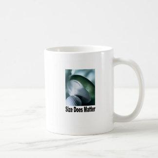 Materias del tamaño taza básica blanca