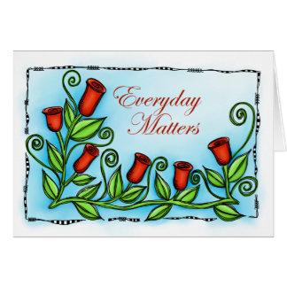Materias diarias felicitación