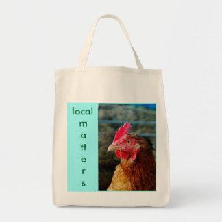 Materias orgánicas del local del bolso #2- del bolsa tela para la compra