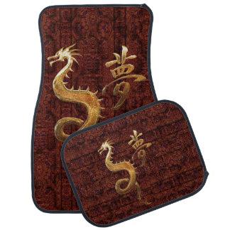 Materias textiles asiáticas alfombrilla de auto