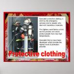 Materias textiles, moda, ropa protectora impresiones