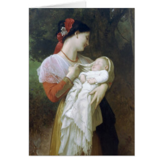 Maternal admiration greeting cards