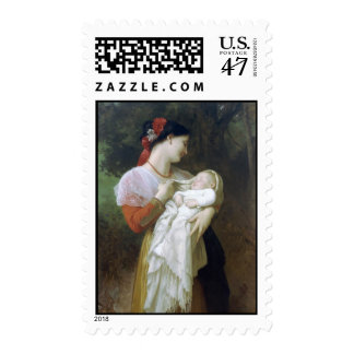 Maternal Admiration Postage Stamp